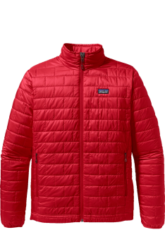 Kurtka Patagonia Nano Puff Jacket red