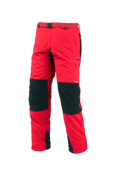 Spodnie Trangoworld Wall Pants Cordura red